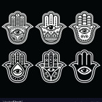 hamsa-hand-hand-of-fatima-amulet-protection-vector-5841436